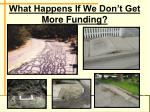 what happens if we don t get more funding18