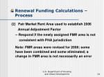 renewal funding calculations process24