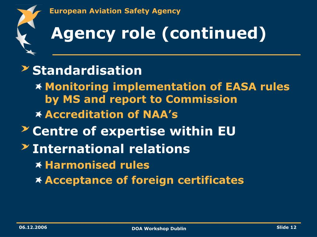 Agency role (continued)