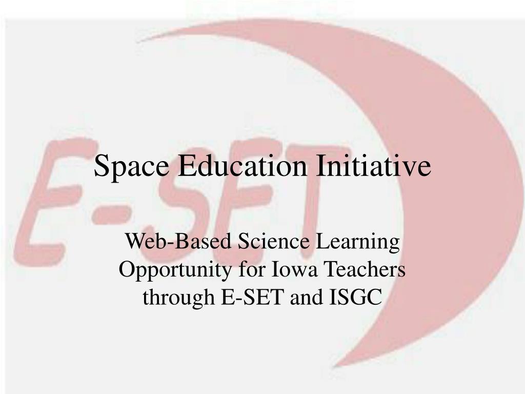Space Education Initiative