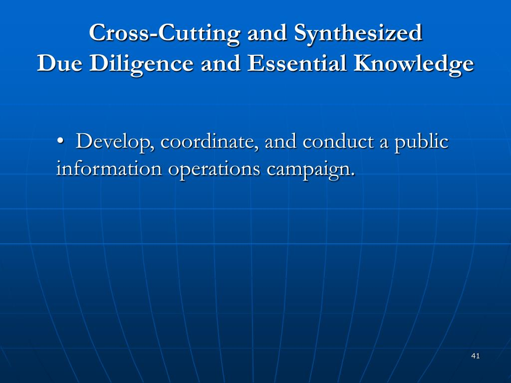 Cross-Cutting and Synthesized