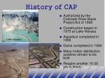 history of cap