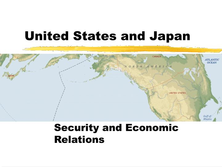 United states and japan