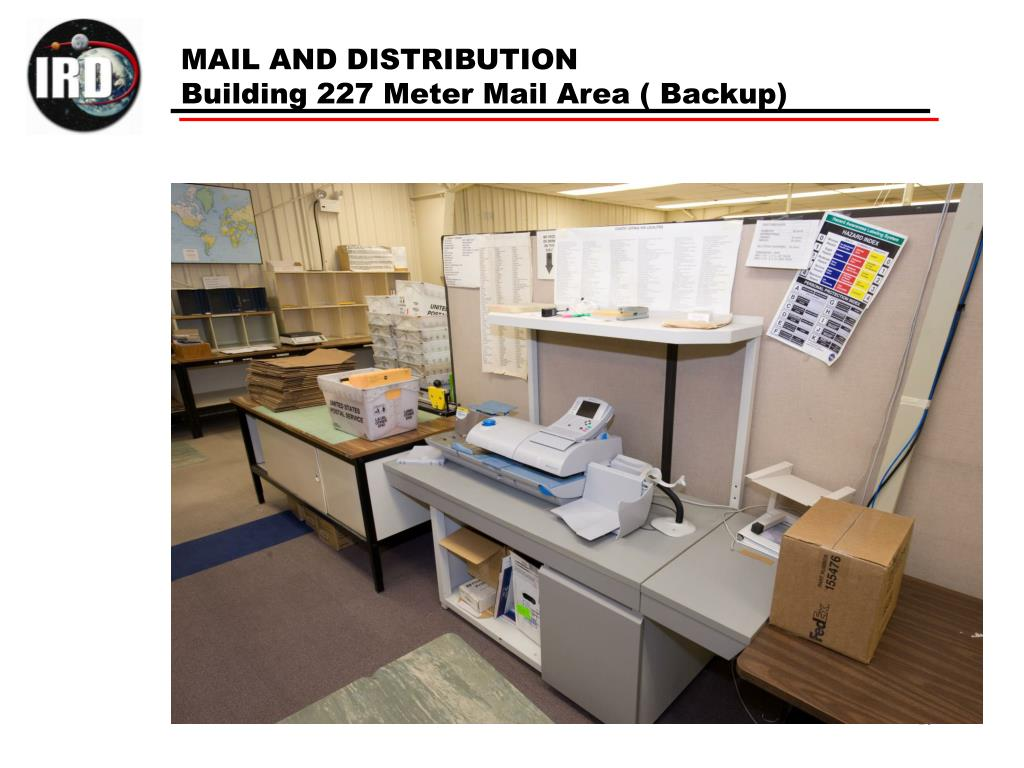 MAIL AND DISTRIBUTION