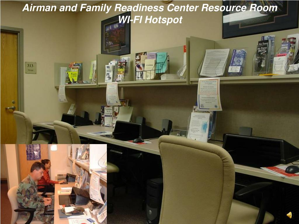 Airman and Family Readiness Center Resource Room