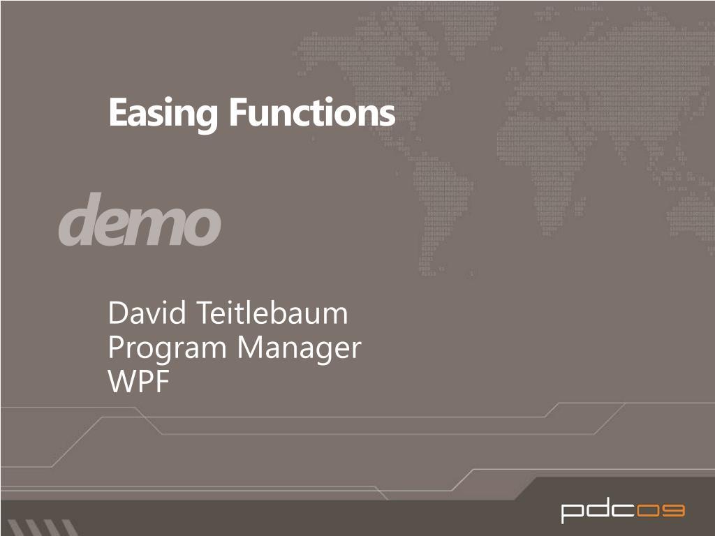 Easing Functions