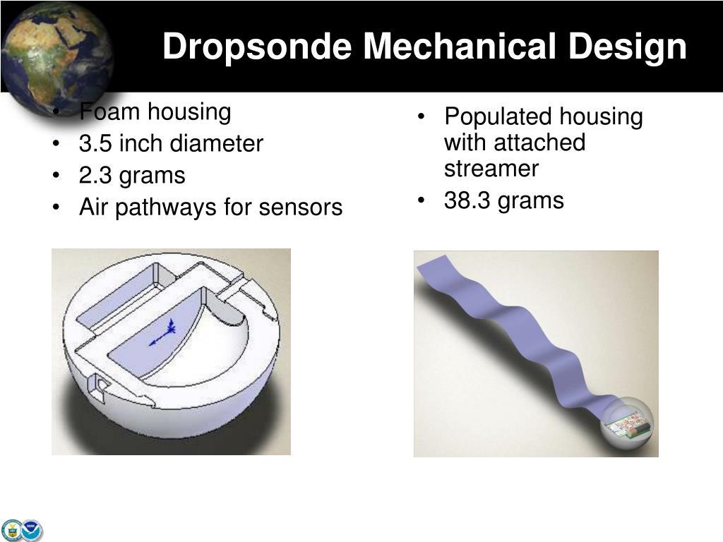 Dropsonde Mechanical Design