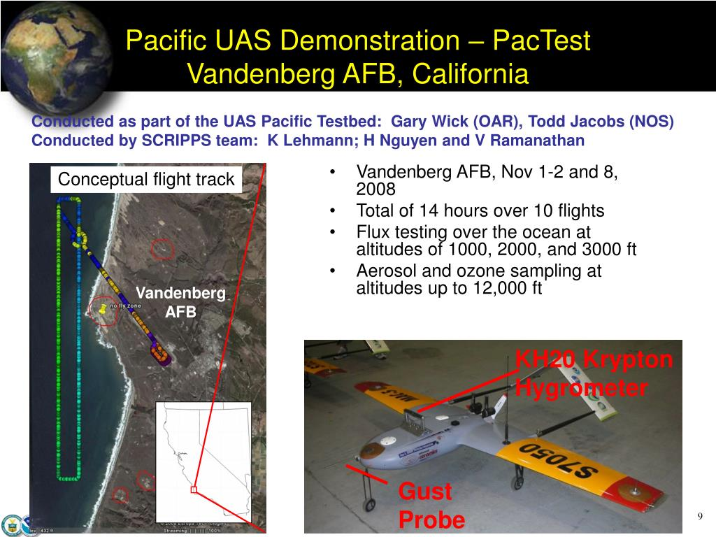 Pacific UAS Demonstration – PacTest