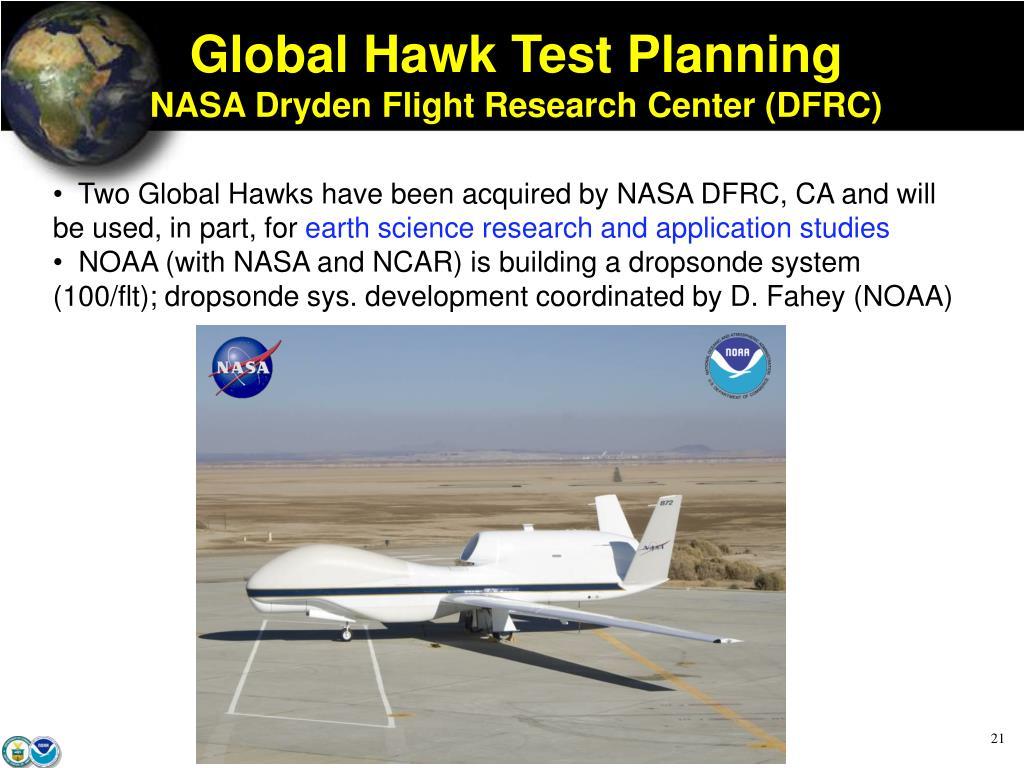 Global Hawk Test Planning