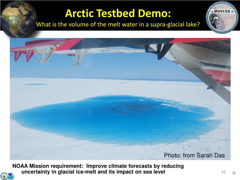 Arctic Testbed Demo: