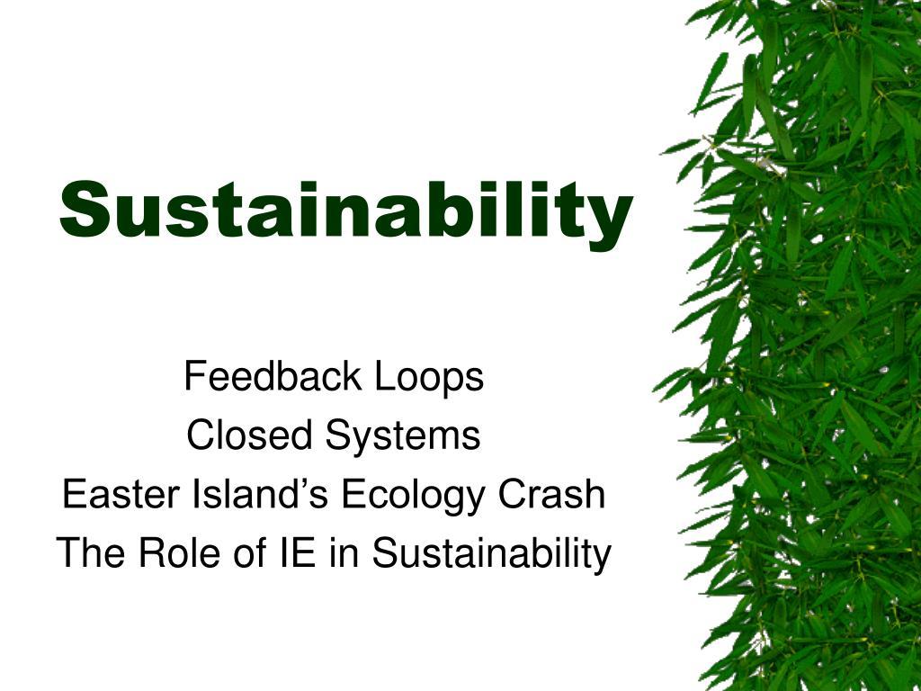 sustainability l.