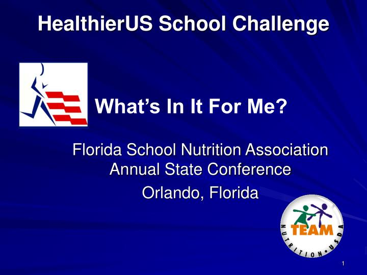 Florida school nutrition association annual state conference orlando florida