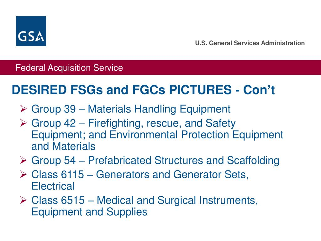 DESIRED FSGs and FGCs PICTURES - Con't