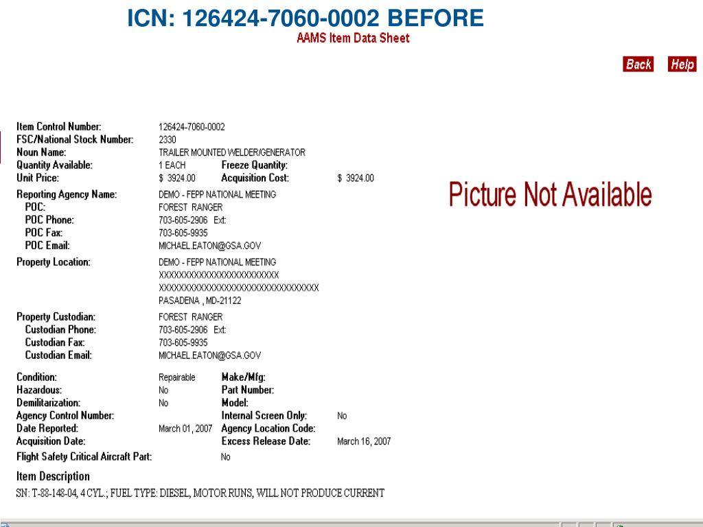 ICN: 126424-7060-0002 BEFORE