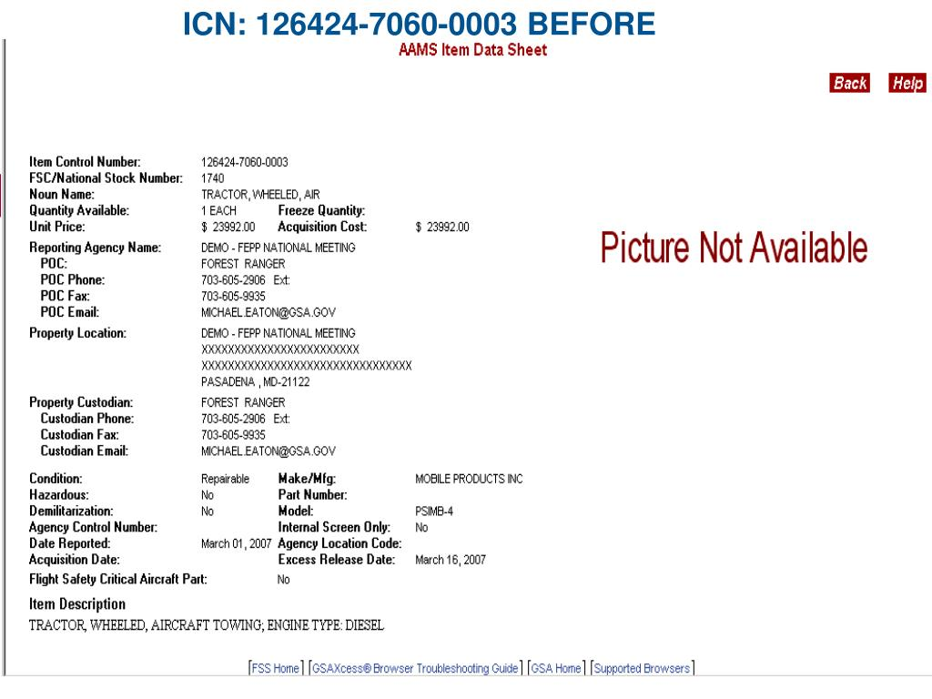 ICN: 126424-7060-0003 BEFORE