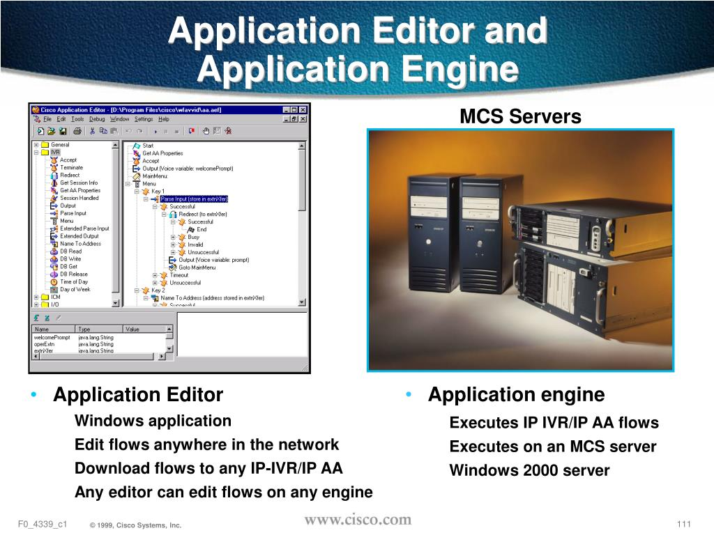 Application Editor and