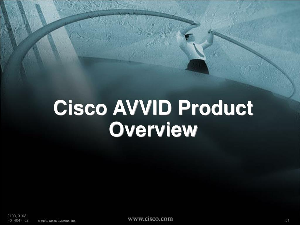 Cisco AVVID Product Overview