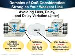 domains of qos consideration strong as your weakest link116