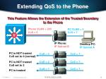extending qos to the phone