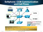 softphone ccm communication and call flows