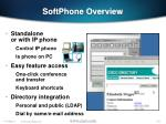 softphone overview