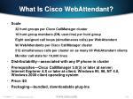 what is cisco webattendant102