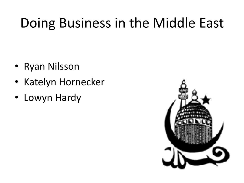 doing business in the middle east l.