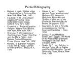 partial bibliography
