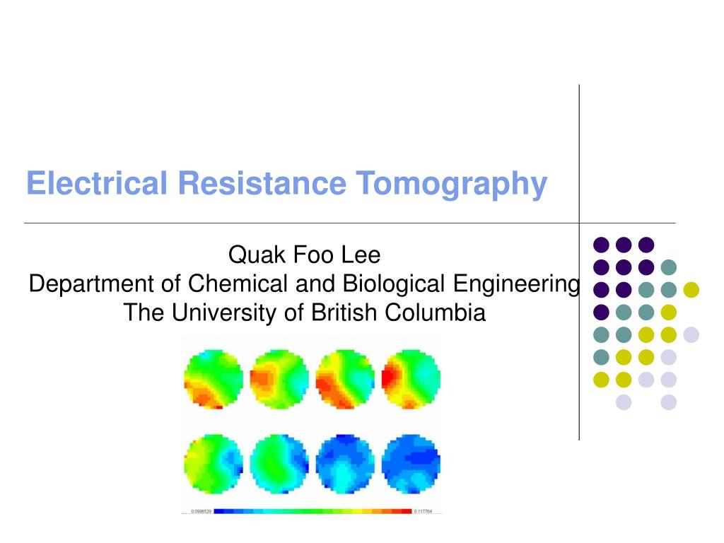 electrical resistance tomography l.