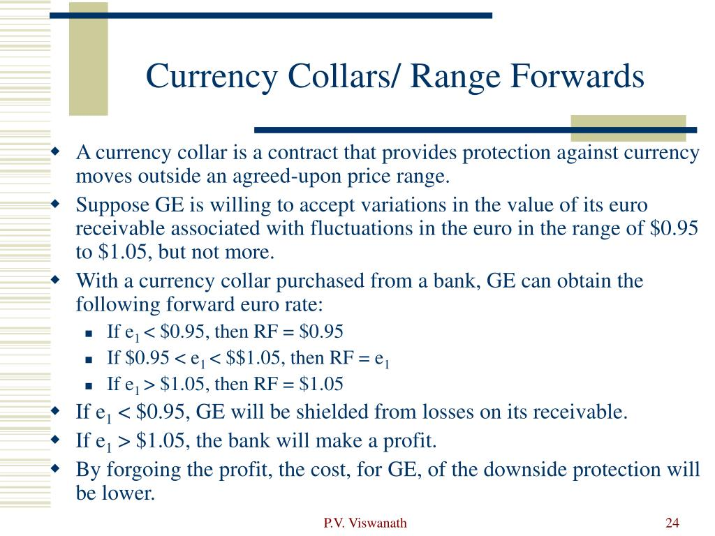 Currency Collars/ Range Forwards