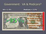 government va medicare