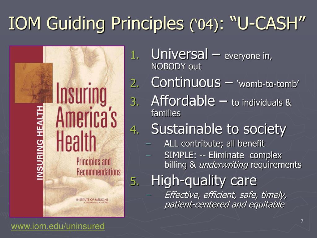 IOM Guiding Principles