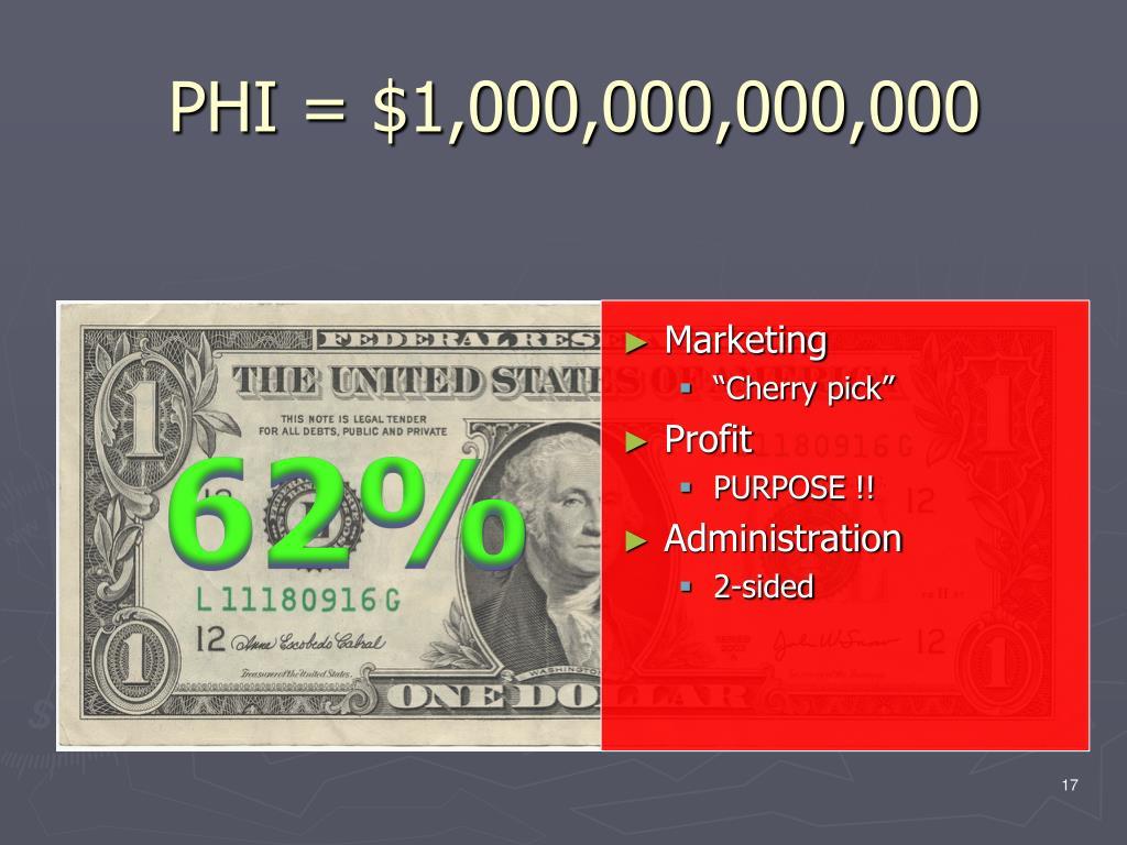 PHI = $1,000,000,000,000