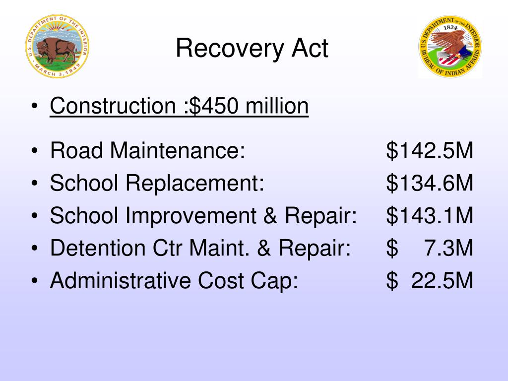 Recovery Act