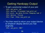 getting hardcopy output52