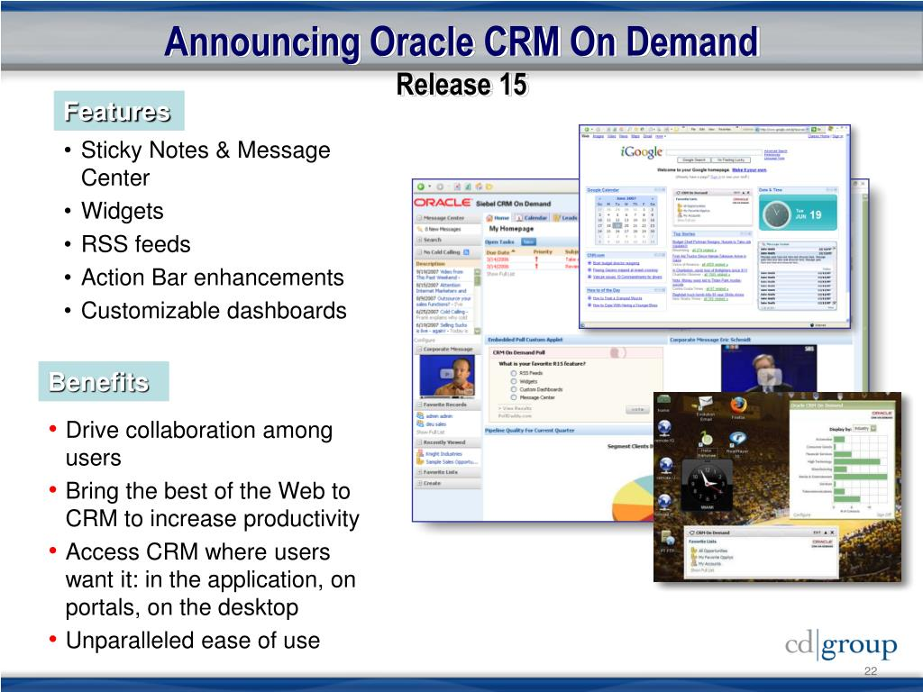 Announcing Oracle CRM On Demand
