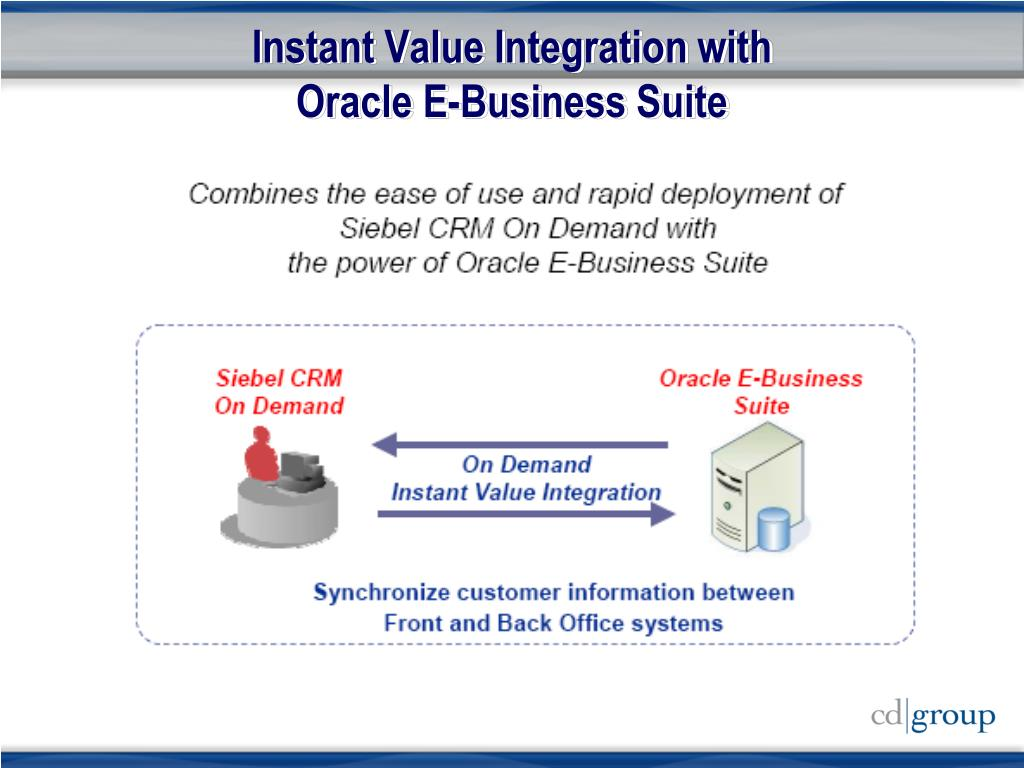 Instant Value Integration with
