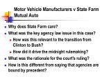 motor vehicle manufacturers v state farm mutual auto