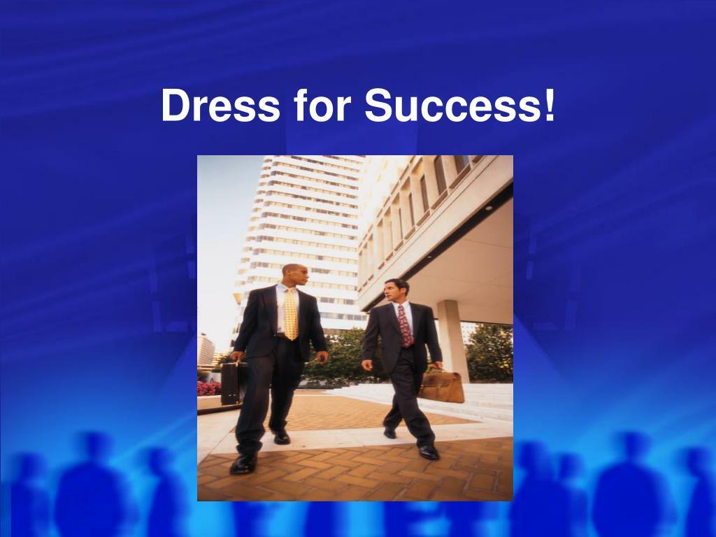 dress for success l.