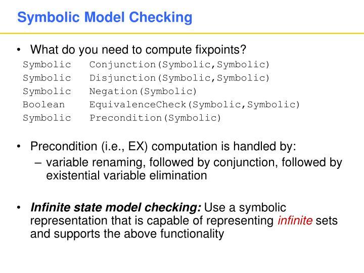 Symbolic Model Checking