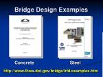 bridge design examples
