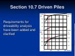section 10 7 driven piles28