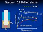 section 10 8 drilled shafts32