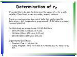 determination of r z
