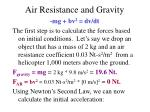 air resistance and gravity4