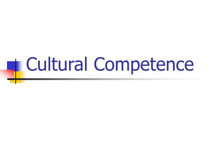 cultural competence n.