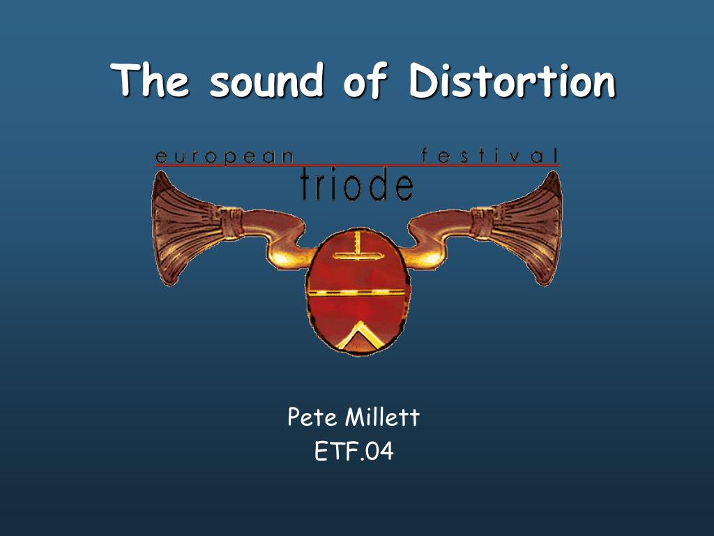 the sound of distortion l.