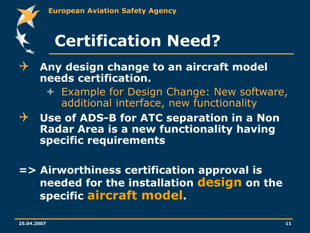 Certification Need?