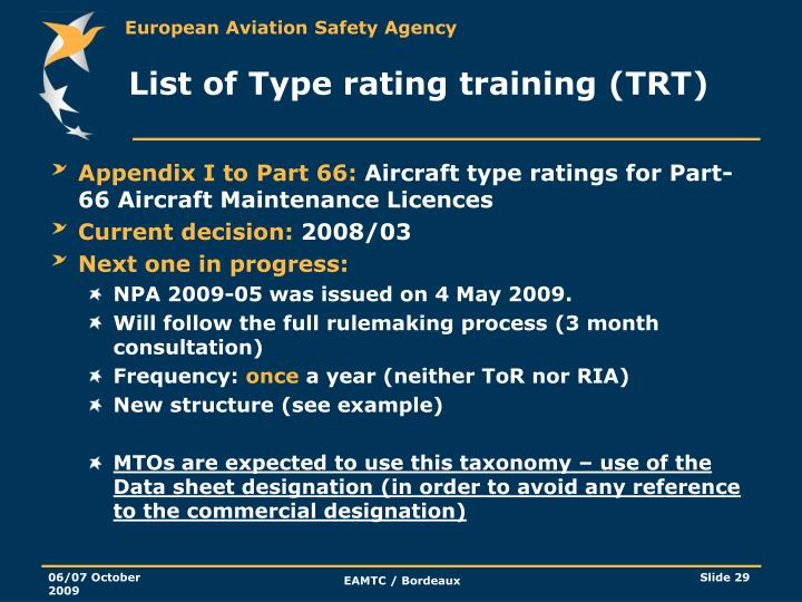 PPT - EASA presentation Various Update PowerPoint ... - photo#18