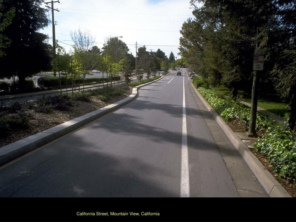 California Street, Mountain View, California